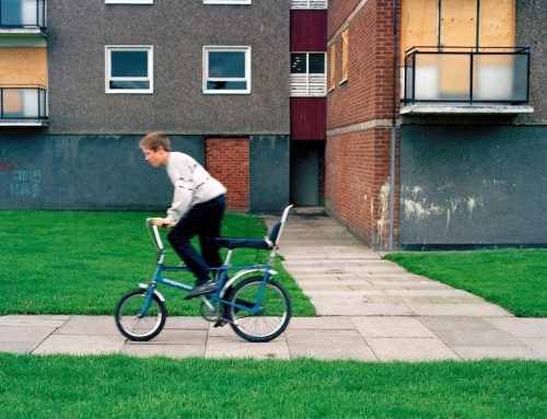 Images of a West Midlands Council Estate in the early 1990s