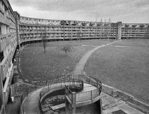 Richard Davis's Images of Hulme, Manchester. 1980s-90s
