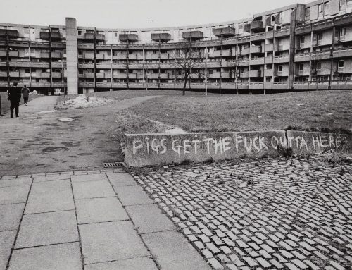 Richard Davis's Images of Hulme, 1980s-90s
