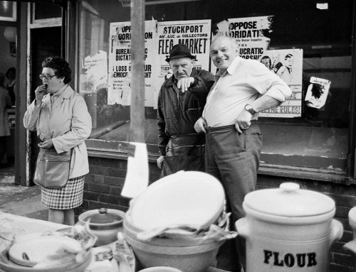 Heidi Alexander's Images of Stockport Market, 1977.