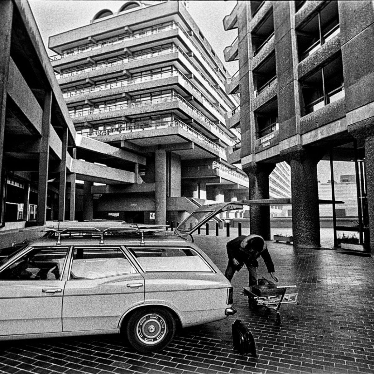 The Barbican Estate, 1975.