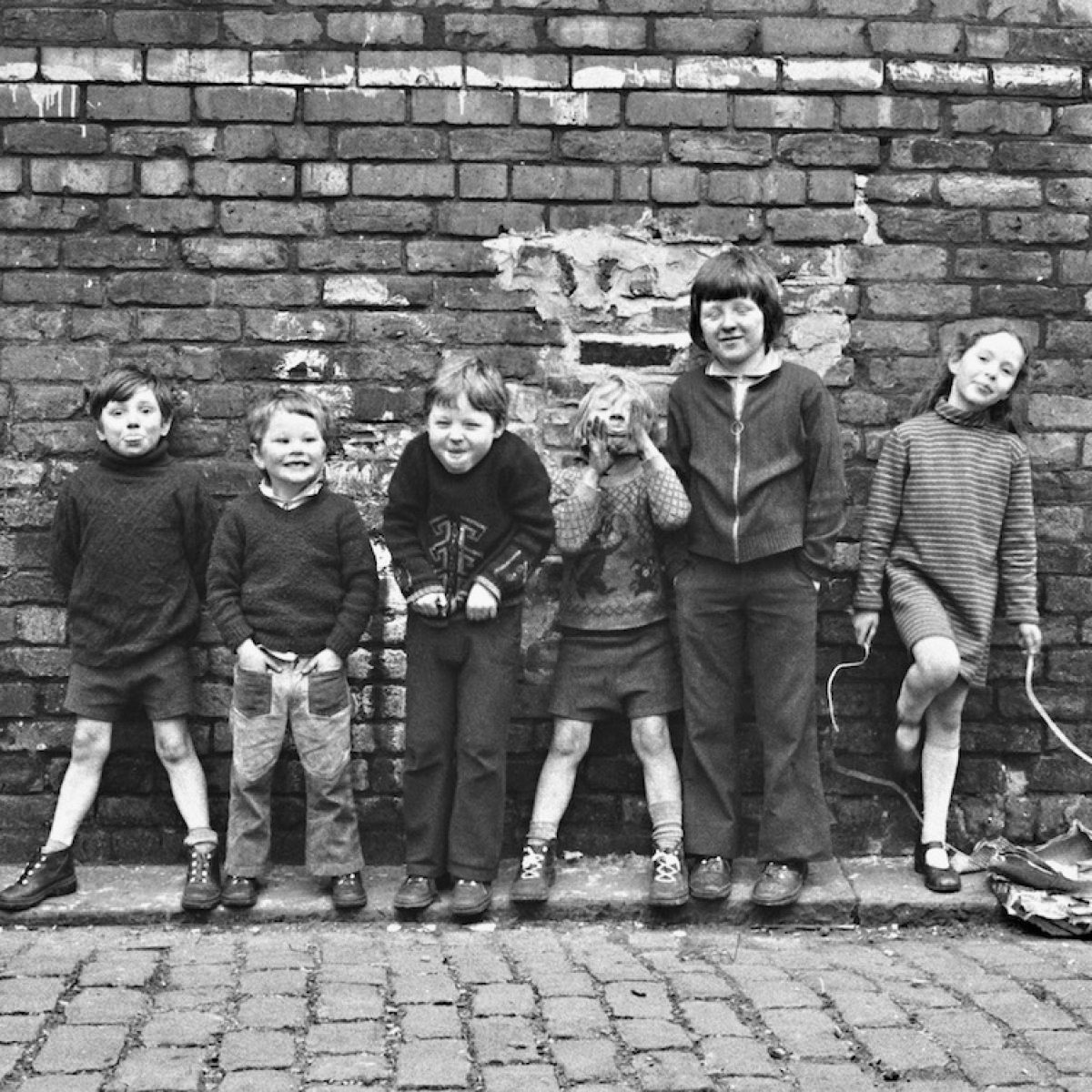 The Kids of Beeton Grove, Manchester, 1970s. Photo © Chris Hunt.