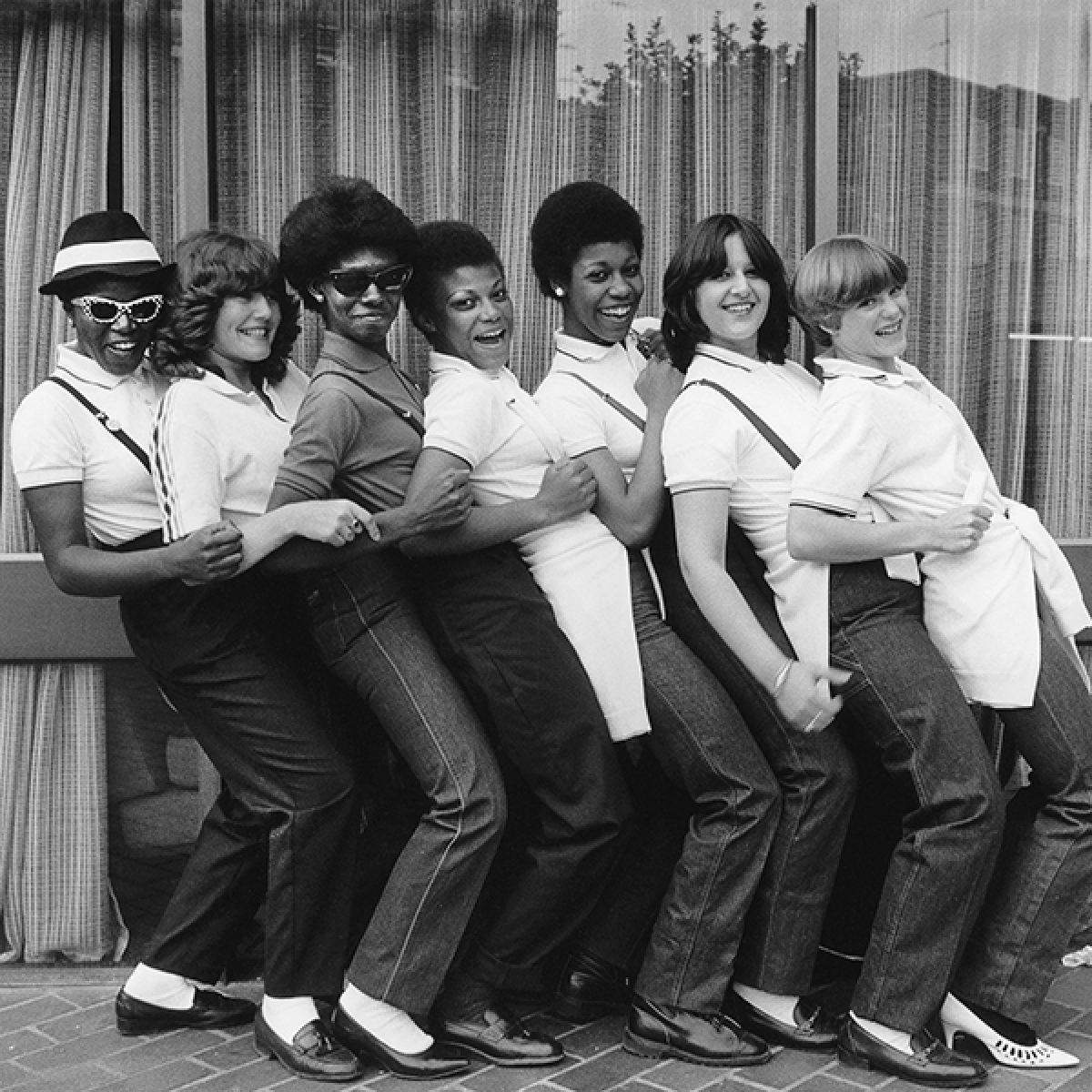 Ska Girls. Taken outside Friars, Aylesbury, 1980.