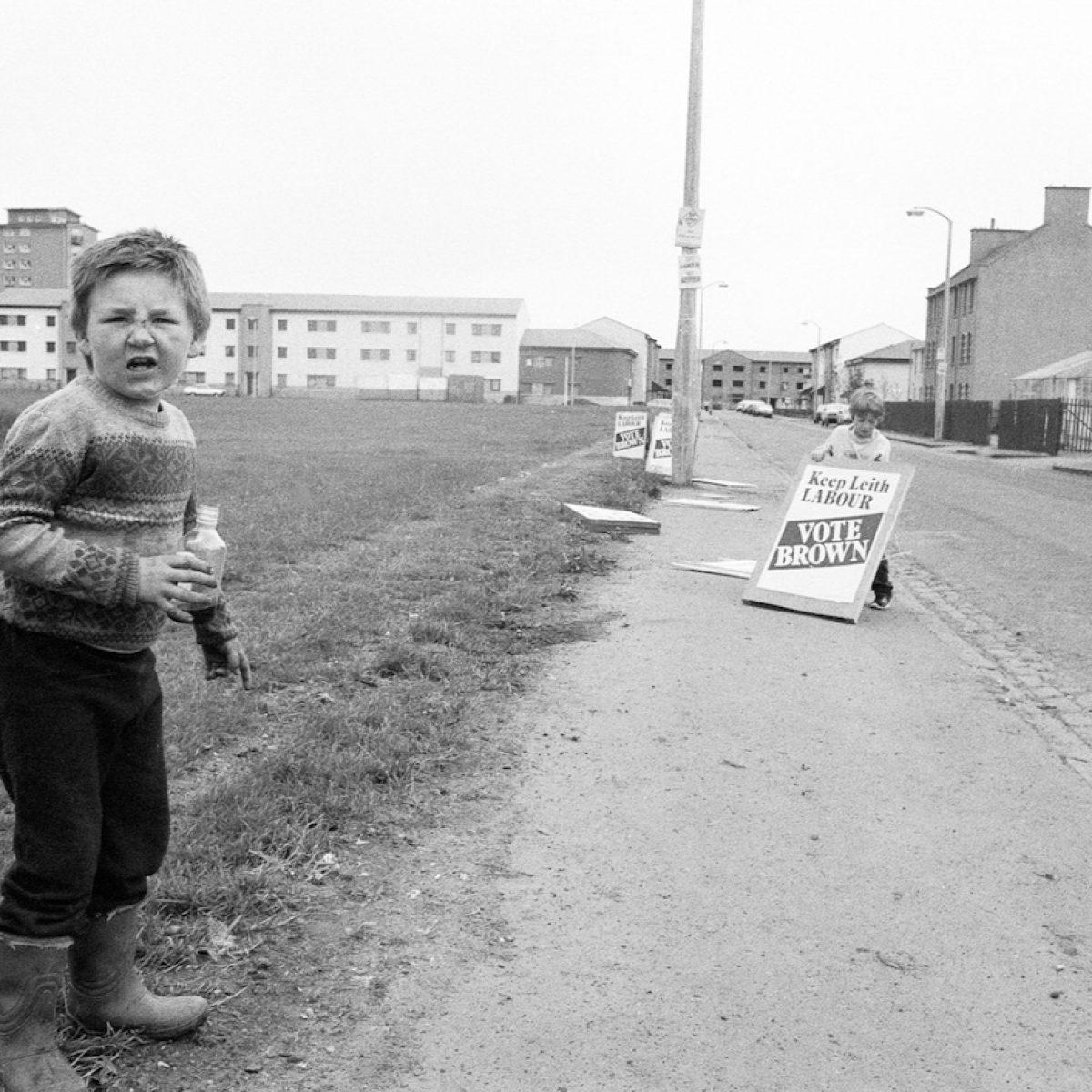 Pilton, Edinburgh, 1980s.