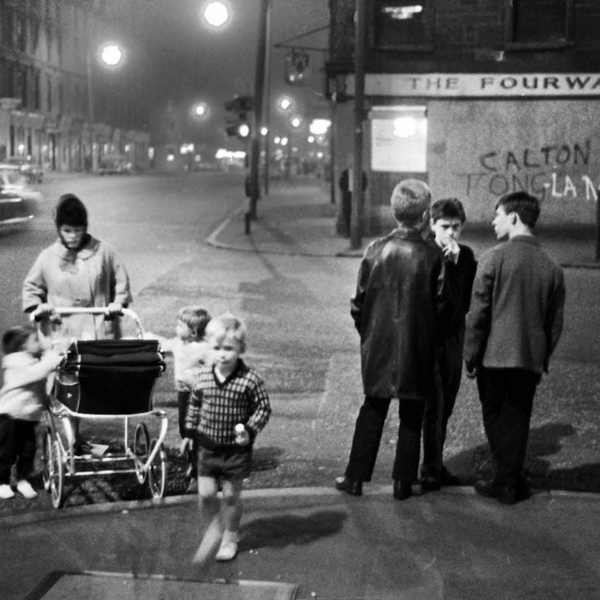 The Fourways. Glasgow, 1968.