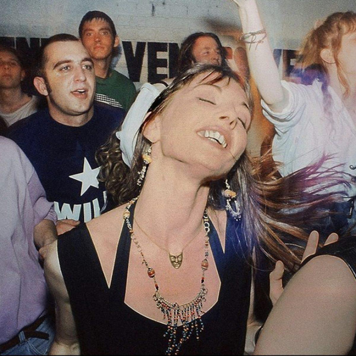 Girl Raver. Venus, Nottingham, 1991.