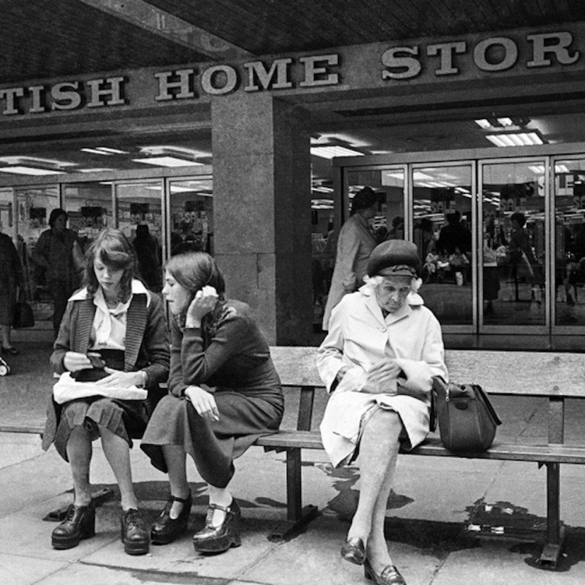 BHS, Mander Centre. Wolverhampton, 1970s.